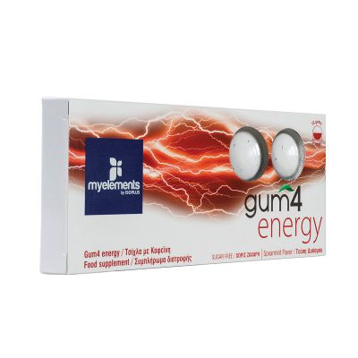 Gum4 Energy with Spearmint flavor