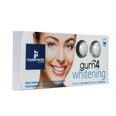 Gum4 Whitening με γεύση Μέντα