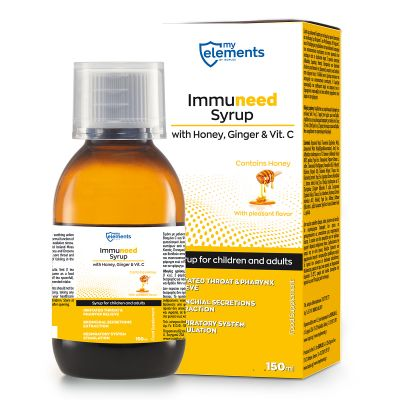 Immuneed Syrop with Honey, Ginger & Vit.C