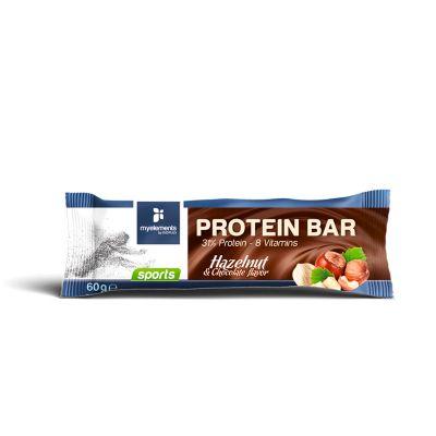 Protein Bar με γεύση Φουντούκι-Σοκολάτα