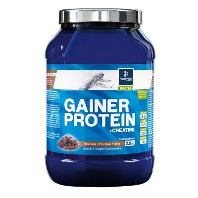 Gainer Protein + Creatine με γεύση Σοκολάτα