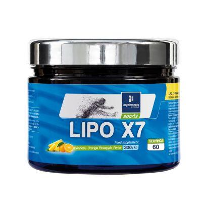 Lipo X7 με γεύση Πορτοκάλι-Ανανά