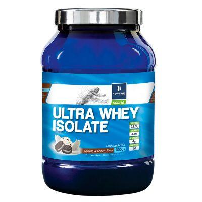 Ultra Whey Isolate με γεύση Μπισκότο-Κρέμα