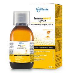 Immuneed Syrup with Honey, Ginger & Vit.C