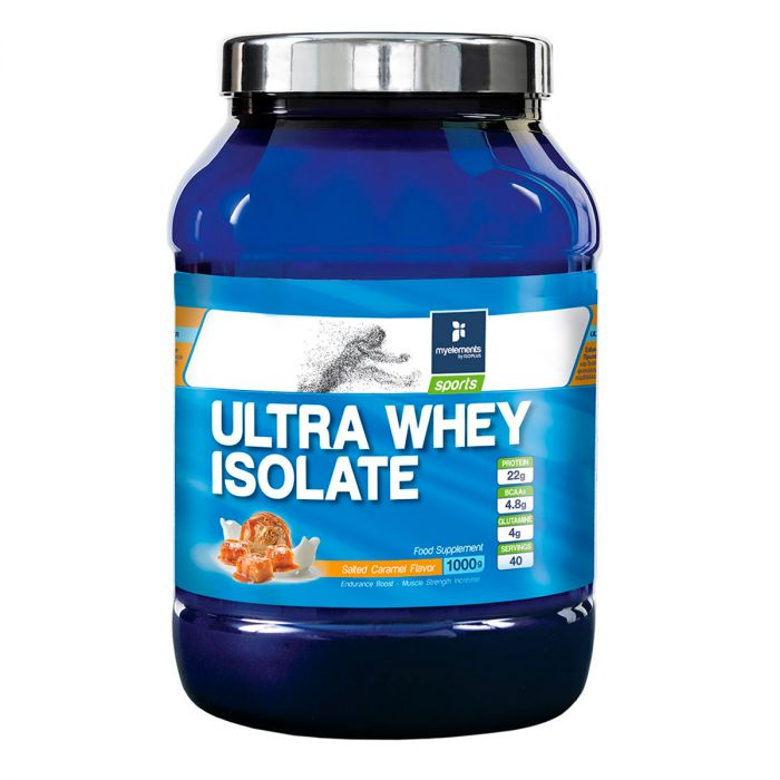 Ultra Whey Isolate με γεύση Αλατισμένη Καραμέλα